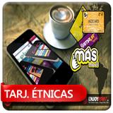 Librería Arco Iris, Enjoy Tarjetas étnicas