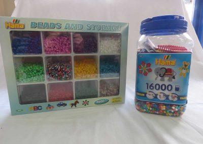Librería Arco Iris, Hama beads