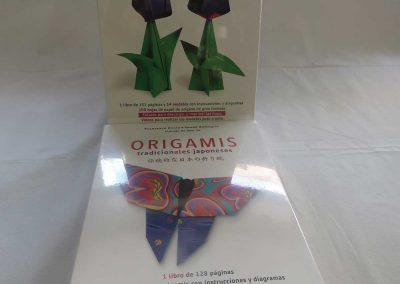 Librería Arco Iris, Origami