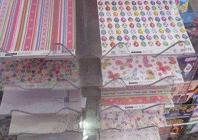 Librería Arco Iris, Paper craft